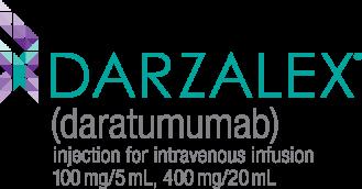DARZALEX® logo, daratumumab